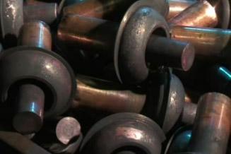 forgeage-piece-mecanique-cuivre