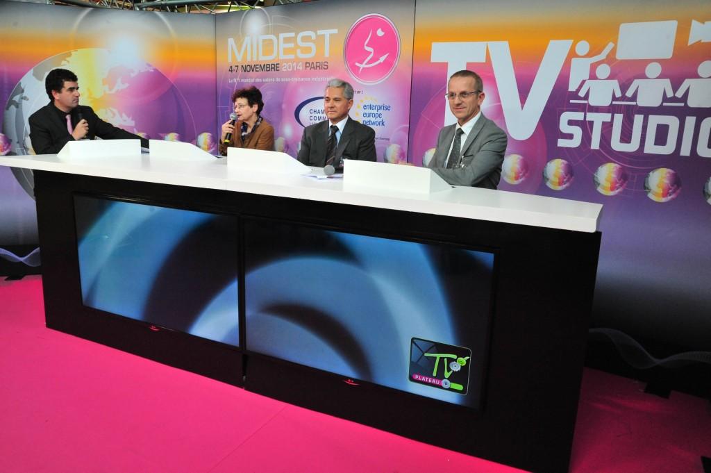 Interview de Jean-Jacques Laurent au MIDEST 2014 suite à la nomination du bureau d'études de l'entreprise ANDRÉ LAURENT aux Trophées de l'Innovation (MIDEST 2014)