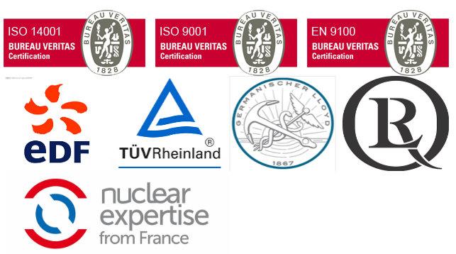 Certifications industrielles André Laurent Forgeage Usinage