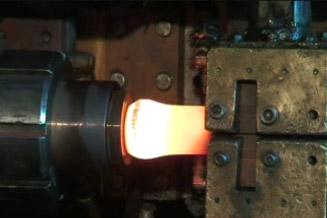 La forge par electro-refoulage ou chauffage par conduction