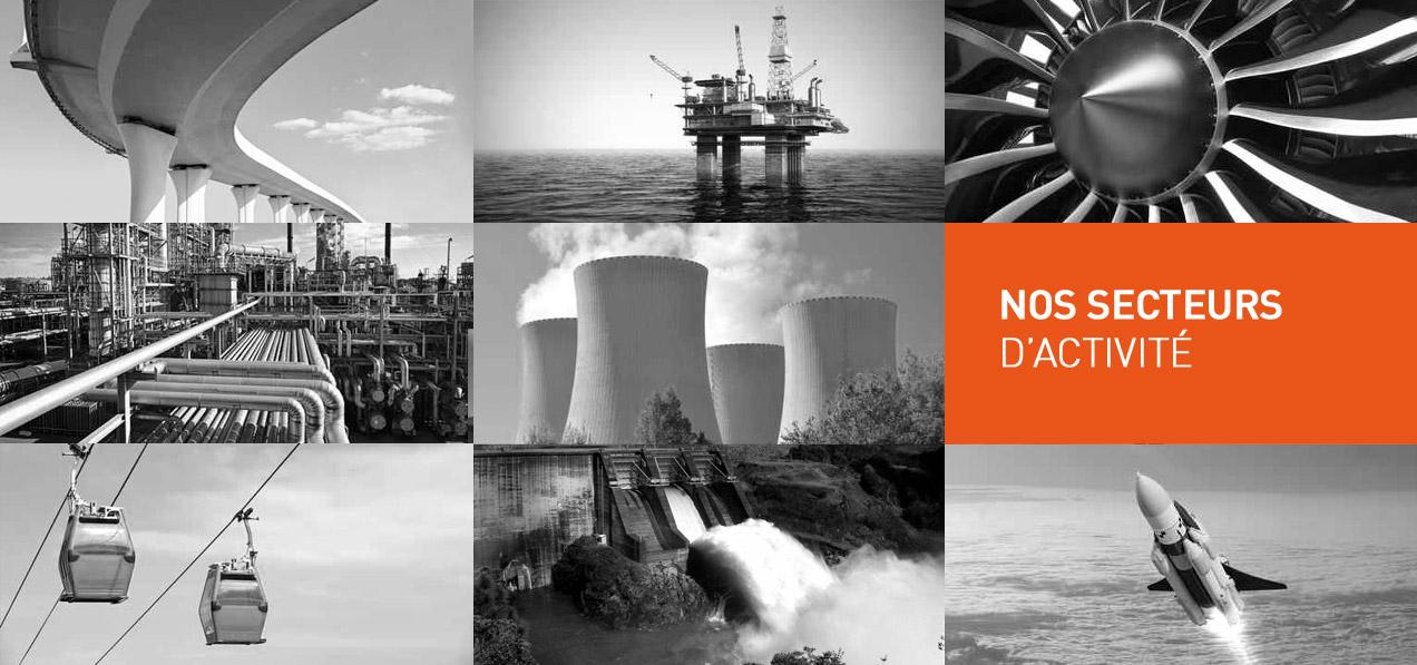 Réalisation de pièces mécaniques pour les secteurs aéronautique - aérospatial, hydraulique & énergie hydroélectrique, nucléaire, ferroviaire etc.