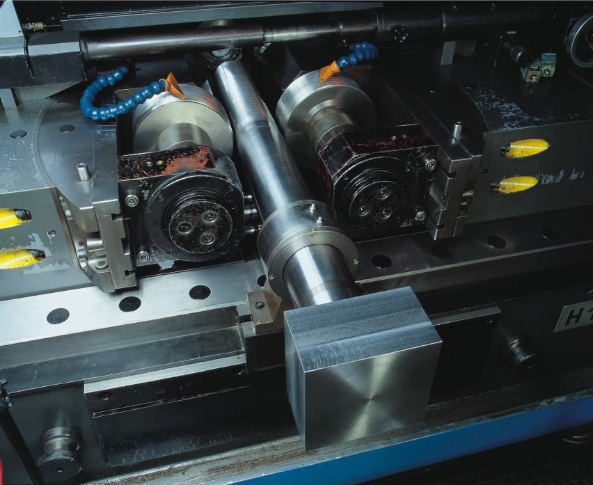 Filetage : Boulon M180 sur rouleuse 100 T