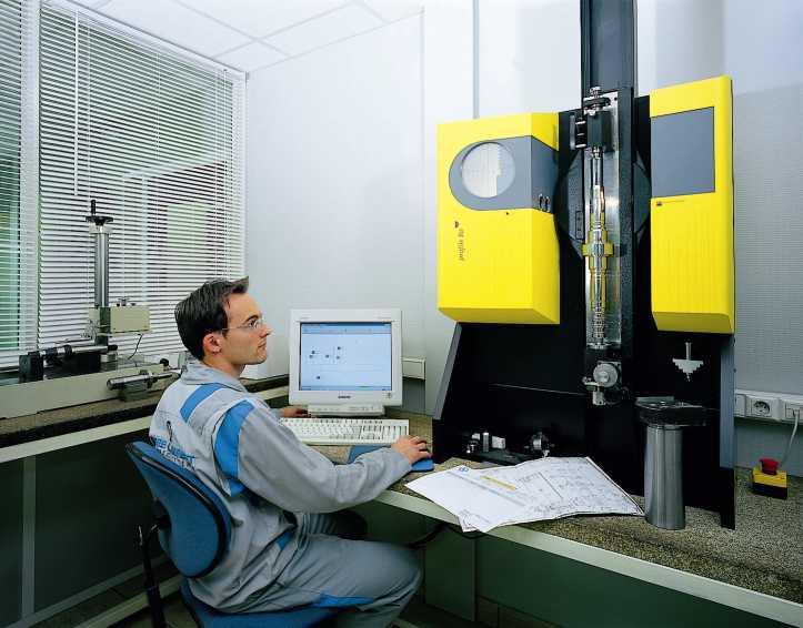 Contrôle : Machine de mesure optique - BROWN AND SHARPE ø 80X500 maxi – Mesures statiques et dynamiques