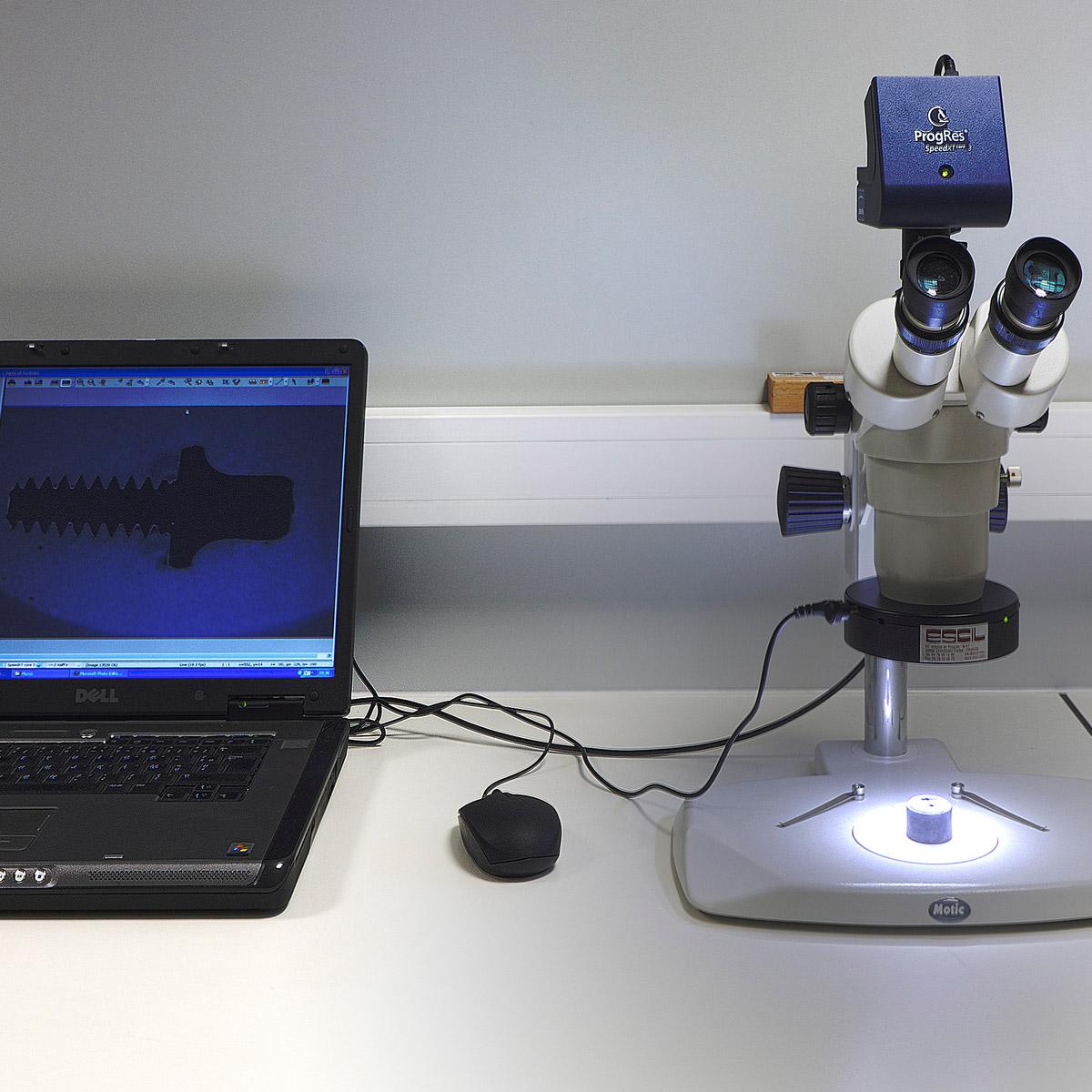 Stéréo Microscope, Plan de travail