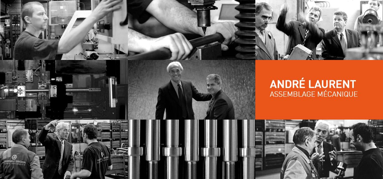 La Société ANDRÉ LAURENT réalise des pièces mécaniques d'assemblage depuis 50 ans