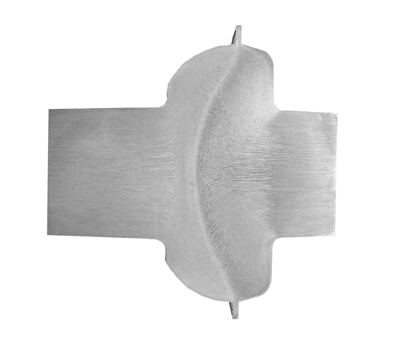 Fibres métal d'une tête de vis forgée