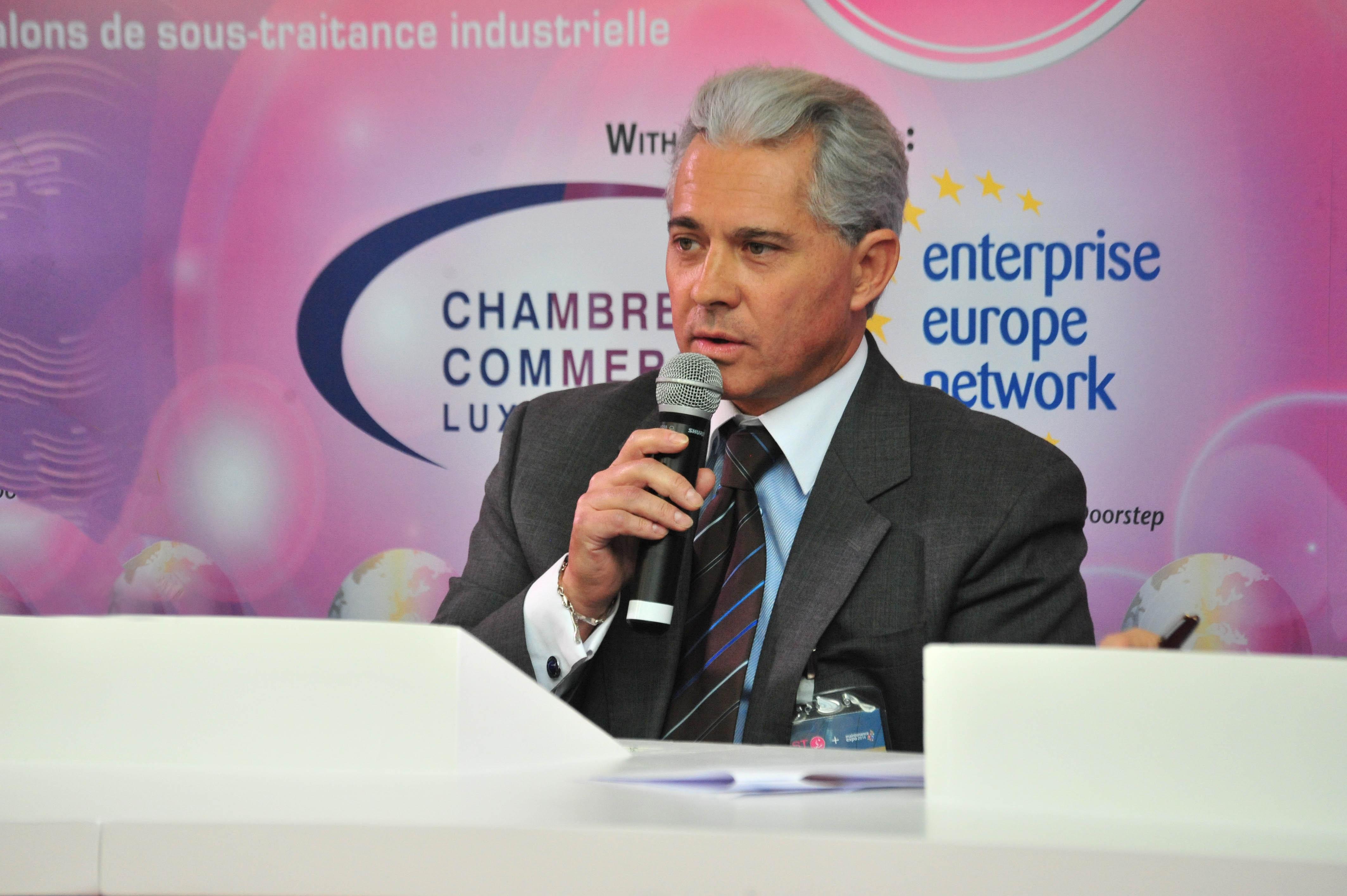 Interview de Jean-Jacques Laurent pour la nomination du bureau d'étude de la société ANDRÉ LAURENT aux Trophées de l'Innovation du MIDEST 2014